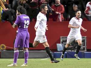 Sevilla ends Real's unbeaten record