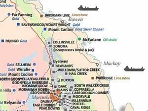 Map reveals locations of dozens of CQ coal mines