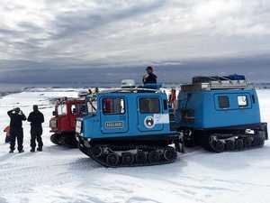 Mackay tradie lands dream job in Antarctica