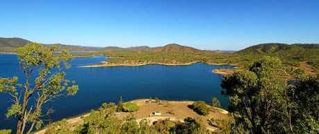 Eungella Dam is a popular spot.