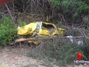 Five in hospital following single-vehicle highway crash