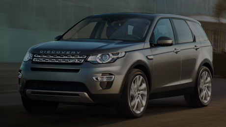 A Land Rover Discovery Sport. Source: Land Rover.
