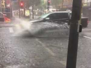 Brisbane CBD floods