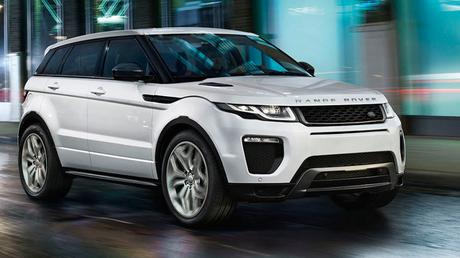 A Range Rover Evoque. Source: Range Rover