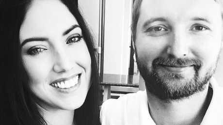 Nardya and her fiancé Liam