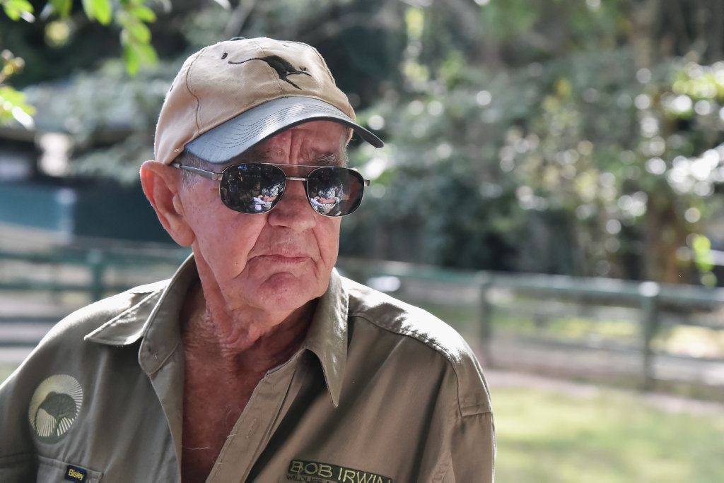 Living legend Bob Irwin is coming to Hervey Bay to talk about his new book.