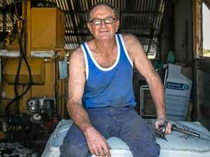 Veteran shearer paces himself