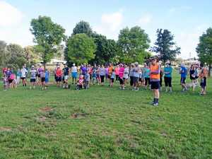 Runners brave the heat for parkrun