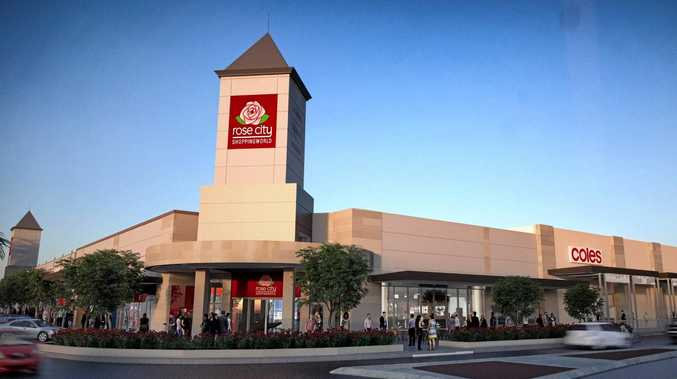 An artist's impression of the Rose City Shoppingworld redevelopment.