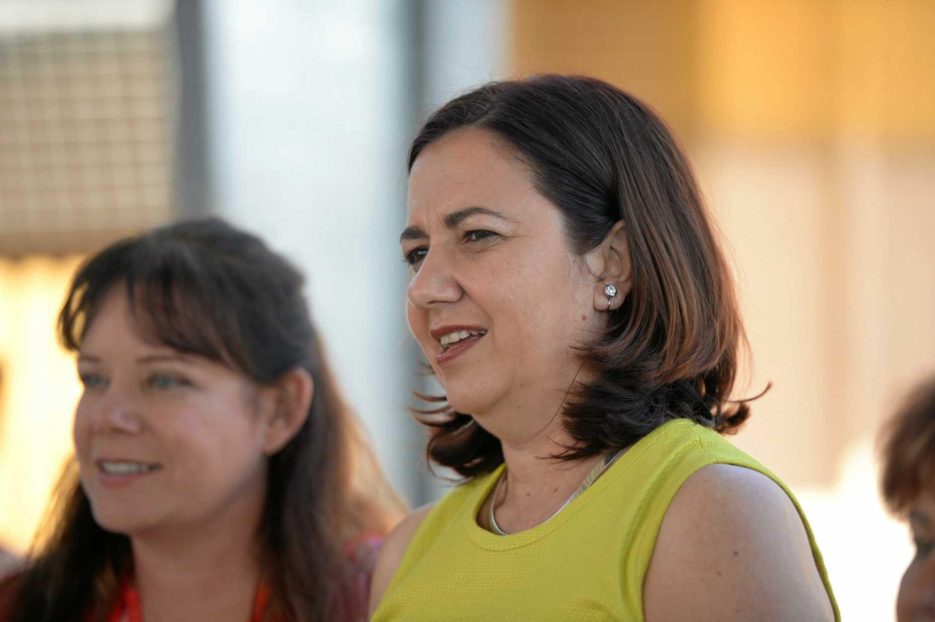 Premier Annastacia Palaszczuk visits Rockhampton High school