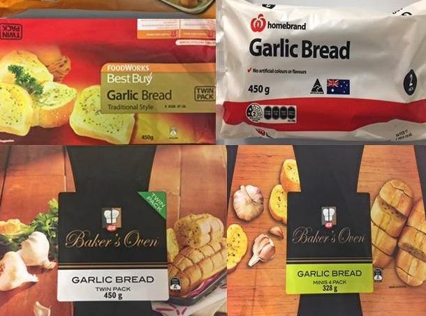 George Weston Foods recalled garlic bread.
