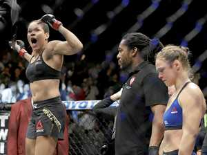 Floyd may help Rousey get back on her feet