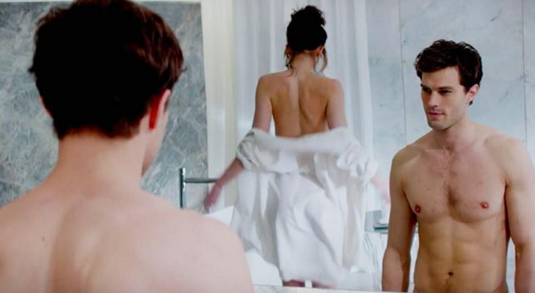 Dornan and Johnson's frequent sex scenes were 'awkward' to film. Picture: SuppliedSource:Supplied