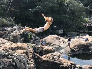 VIDEO: Coast's best, secret freshwater swimming holes