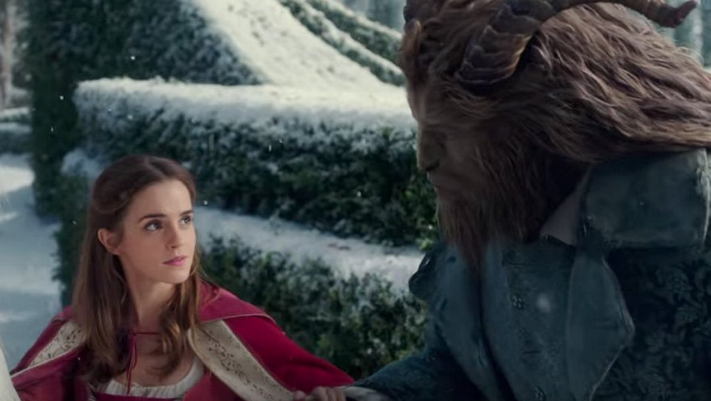 Emma Watson in a scene from the movie Beauty and the Beast.