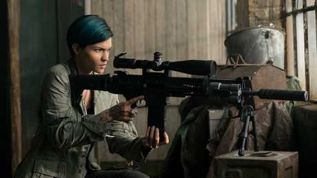 Ruby Rose in a scene from the movie xXx: The Return of Xander Cage.