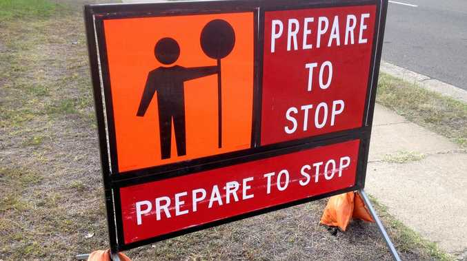 Roadworks on Summerland Way will see slower traffic conditions.