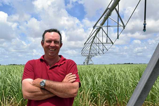 ENERGY BOOST: Cane farmer Dean Cayley said