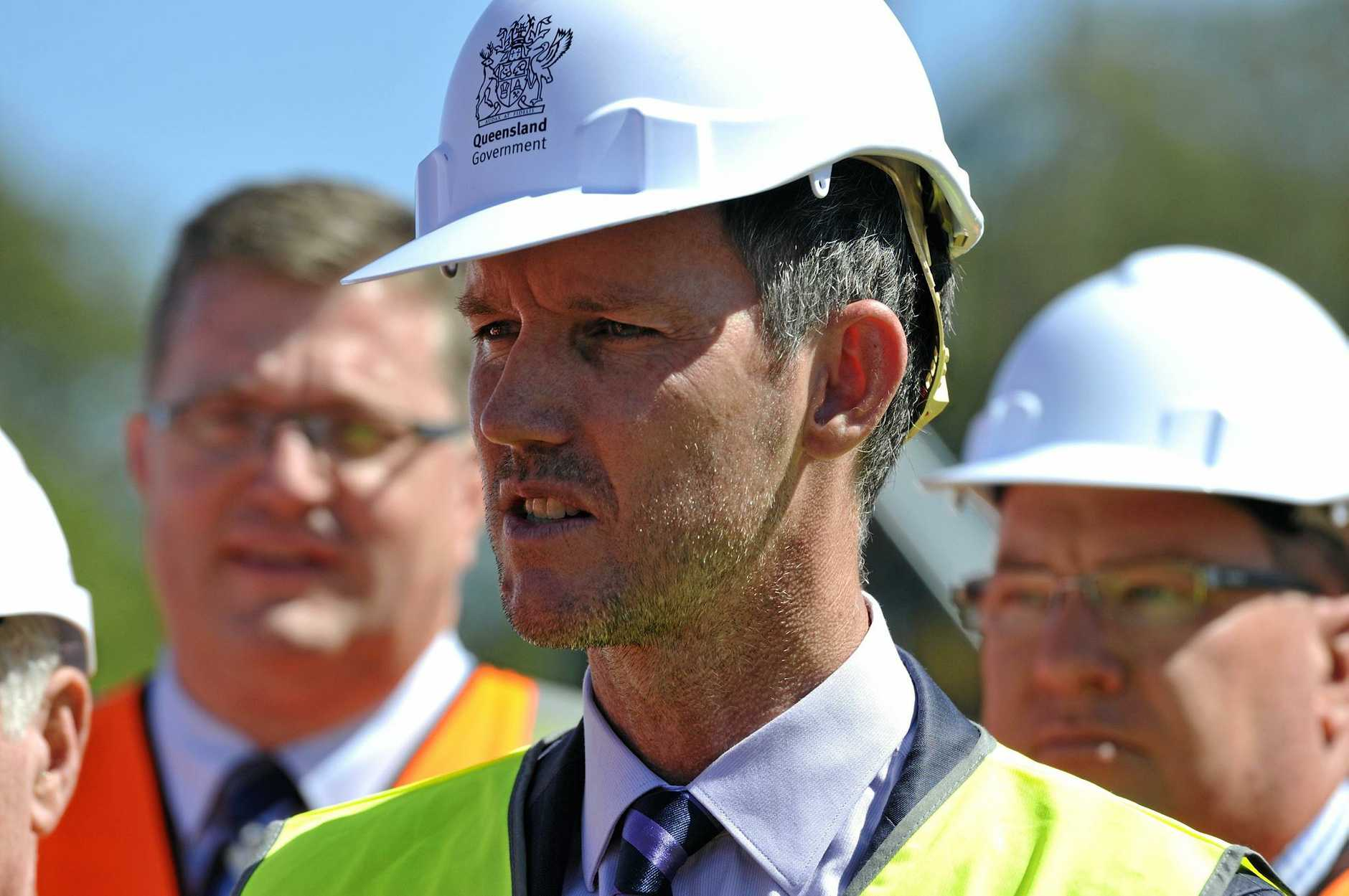RETURNED FIRE: Queensland Minister for Main Roads and Road Safety Mark Bailey has said the federal Member for Wide Bay Llew O'Brien needed to get his facts right in regards to state government funding of regional highways.