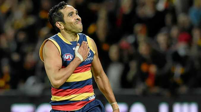 Eddie Betts has signed a new deal to remain with the Adelaide Crows.