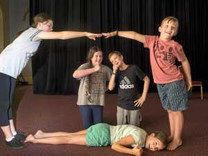 Kids get dramatic at Toowoomba workshop