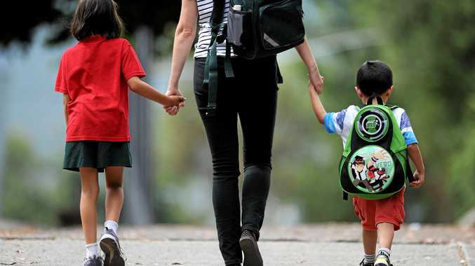 Generic photo of parent and child, Friday, Feb 14, 2014. (AAP Image/Joe Castro) NO ARCHIVING