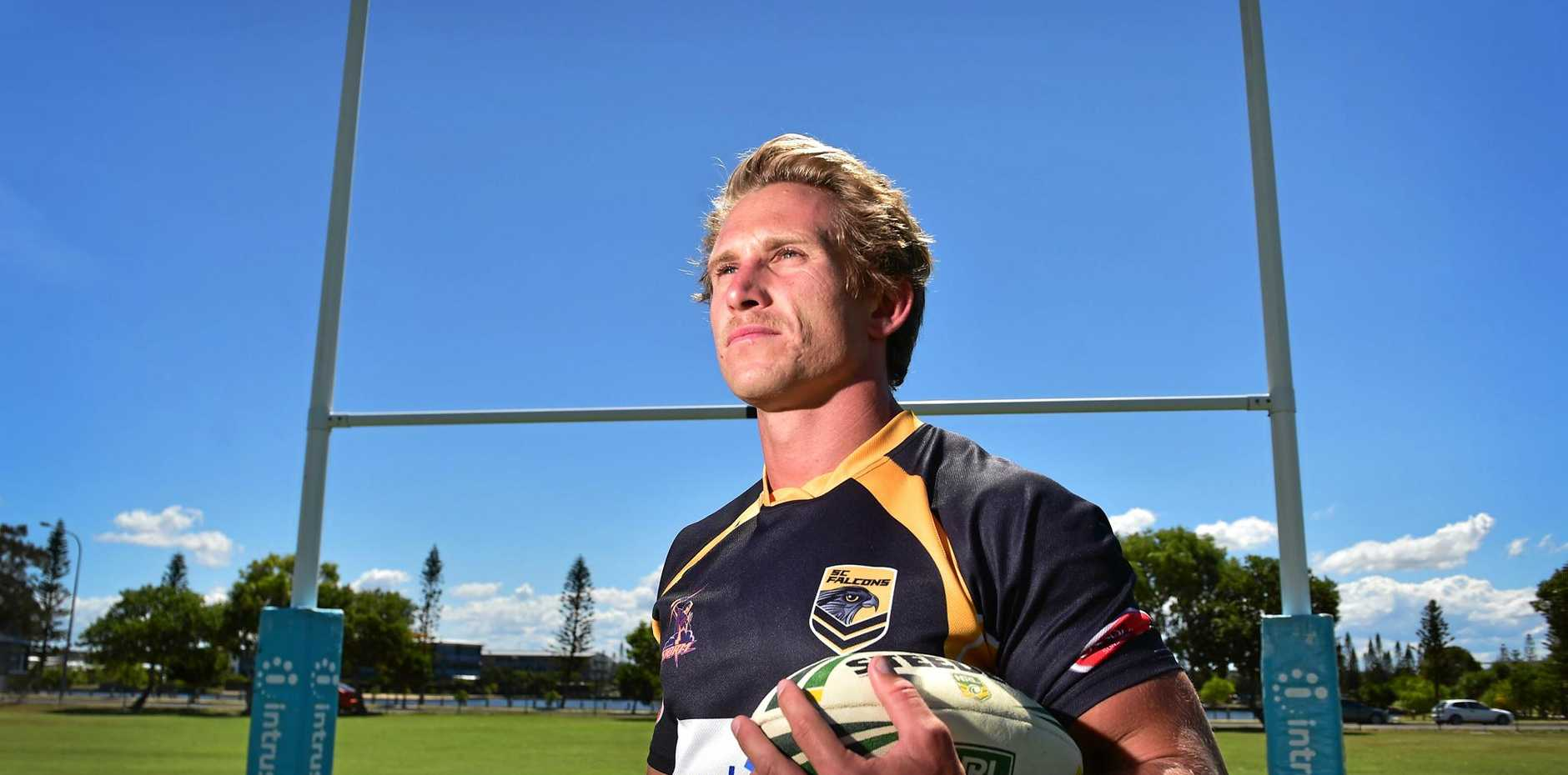 HARD DECISION: Falcons captain Troy Giess has announced his retirement from the Intrust Super Cup after contract talks fell over.