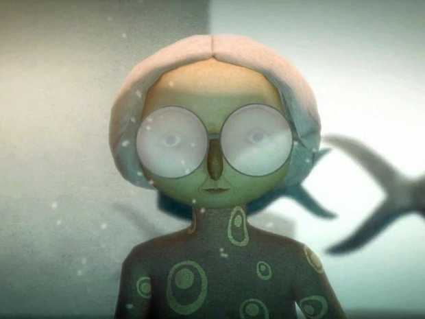 ON SCREEN: A still from French animated short film The Head Vanishes, selected for Flickerfest 2017.