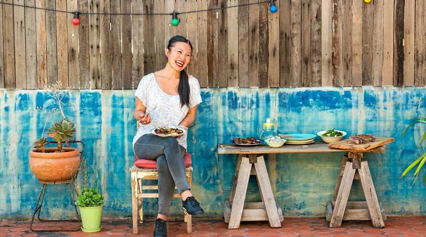 A LITTLE LAMB: Celebrity chef Poh Ling Yeow shares her tips for sizzling summer lamb.