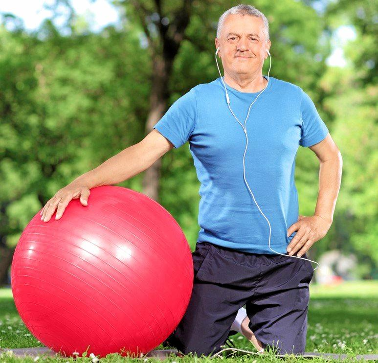 Strengthen your bones using regular weight-bearing and resistance exercises.