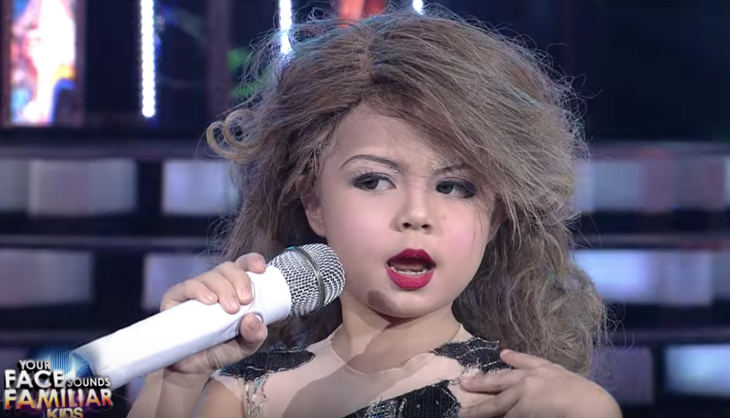 Seven-year-old Xia Vigor nails Taylor Swift impersonation on the Philippine talent show Your Face Sounds Familiar Kids.