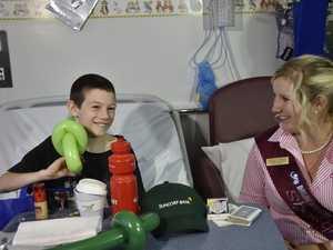 Show spirit helps sick kids
