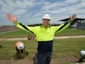 Sunshine Coast Stadium Upgrades.