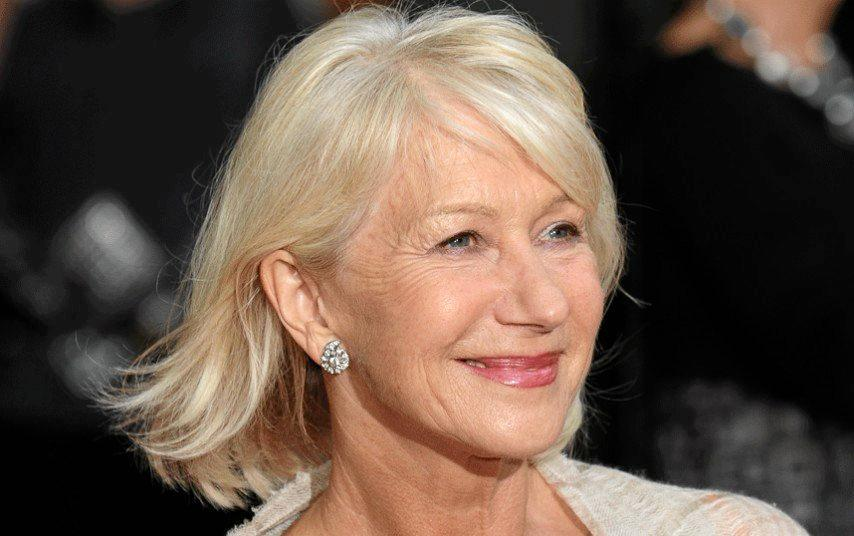 NATURAL HIGHLIGHTS: Helen Mirren is happy to live with her lines.
