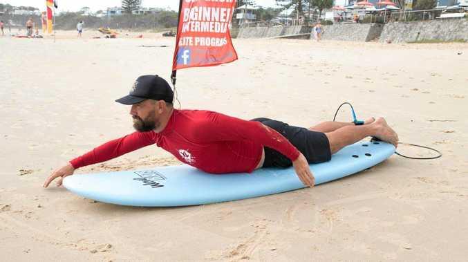 SURFING: It's all about technique, technique, technique.