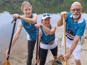 Dragon boating proves to be a sport for all ages