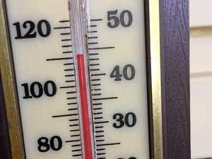 Hot temperatures around the Clarence Valley