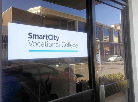 QUESTIONS: The SmartCity Vocational College office at Maroochydore's First Ave.