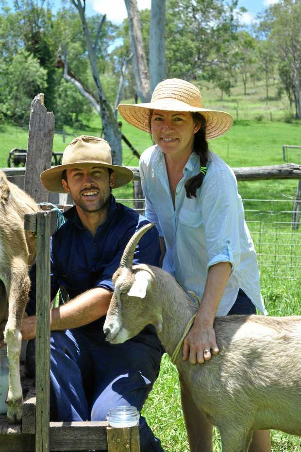 HIGH QUALITY: Rohan and Fiona Morris call the Goomburra Valley home.