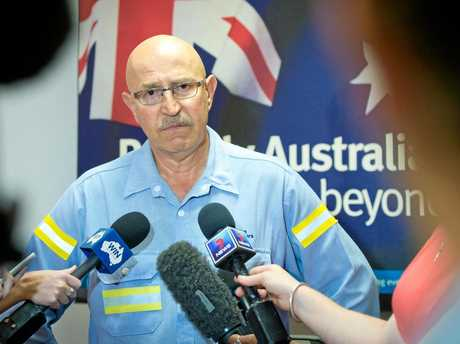 Boyne Smelters general manager operations Joe Rea announced job cuts due to increased power prices.