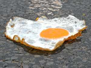 Bully's 'kitchen in the carpark' fried egg test an epic fail