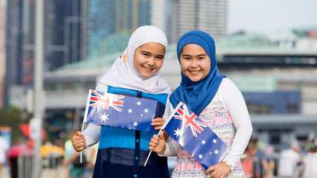 A major crowdfunding campaign was launcheed to restore the Australia Day hijab billboard.