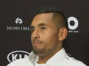 Kyrgios admits he needs a coach