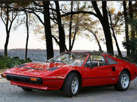 The authentic 1984 Ferrari 308 GTS Quattrovalvole used in filming Magnum P.I.