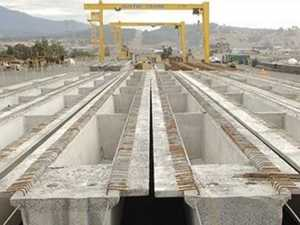 99,000 tonnes of bridge supports used on Range crossing