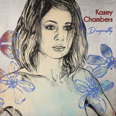Album cover artwork for Kasey Chambers' Dragonfly.