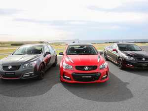Holden's trio of limited edition LS3 V8-powered Commodores