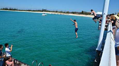 Busselton Jetty in Western Australia.