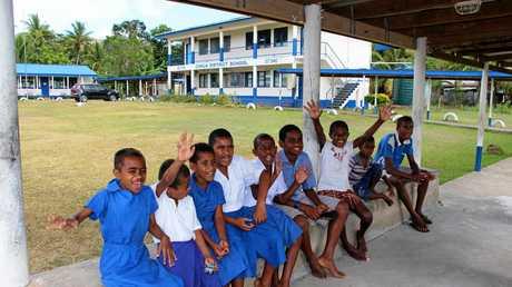 Conua District schoolkids.