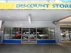 Empty shop fronts in Murwillumbah